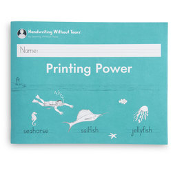 Handwriting Without Tears, Printing Power Workbook
