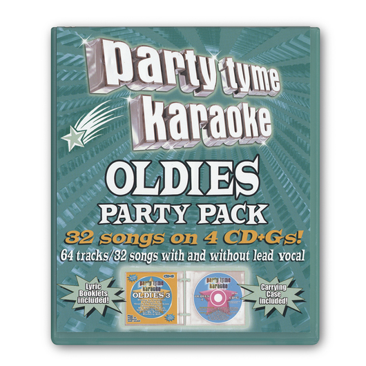 Party Tyme Oldies Party Pack Karaoke CD+G Series