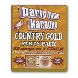 Party Tyme Country Gold Party Pack Karaoke CD+G Series