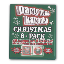 Party Tyme Christmas Pack Karaoke CD+G Series