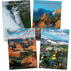 Seasons in the National Parks DVDs - Set of 4