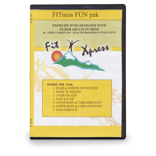 Fitness Fun Pak - Set of 7 DVDs