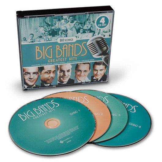Big Bands Greatest Hits CDs - Set of 4