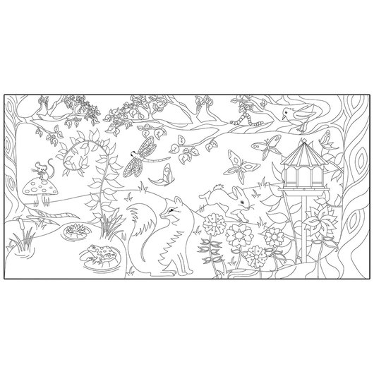 Nature View Wall Mural to Decorate