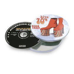 Live 70s Disco Party CD