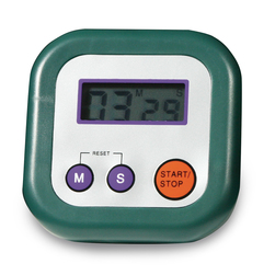 Green Pocket Timer