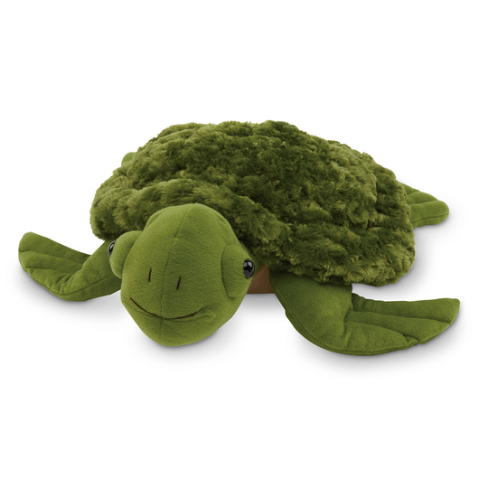 Weighted Cuddly Companion - Fuzzy Fin Turtle