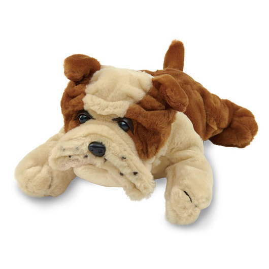 Weighted Cuddly Companion - Large Bulldog