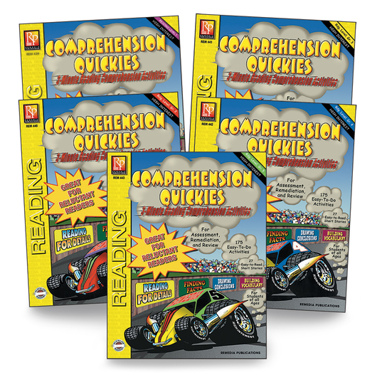 Comprehension Quickies Book Set