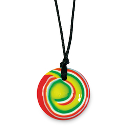 Chewigems® Disc Pendant - Rock 'n Roll