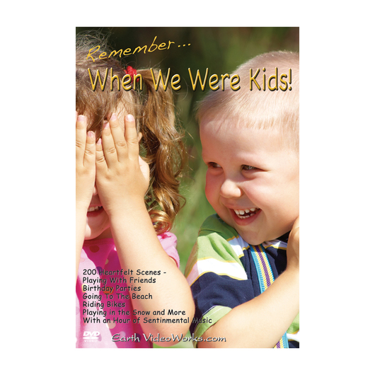Earth VideoWorks - Remember When We Were Kids! DVD