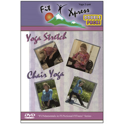 Relaxed and Refreshed Yoga DVD Set
