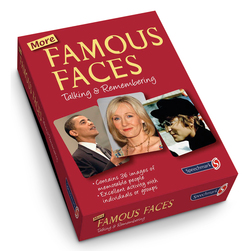 More Famous Faces Cards