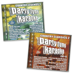 Party Tyme Karaoke CD+G Series - Country Collection - 2 CD+Gs
