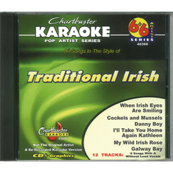 Chartbuster Series Karaoke CD+G - Traditional Irish Disc