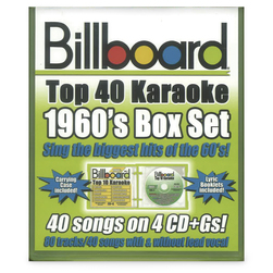 Billboard Top 40 Karaoke CD+Gs Set