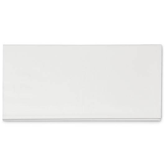 Rectangular Table Cover - White