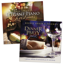 Dinner Music CDs - Set of 2