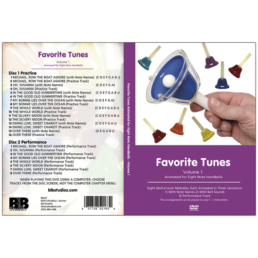 Favorite Tunes for 8-Note Bells