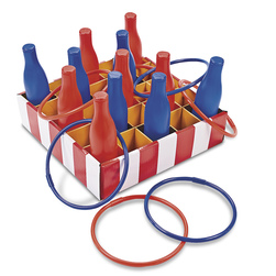 Carnival Bottle Ring Toss