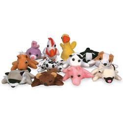 Mini Beanbag Animal Assortment