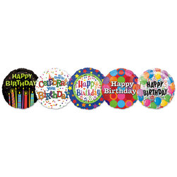 Happy Birthday!, Mylar Balloon MegaPack