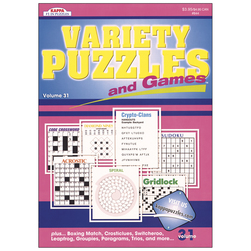 Variety Puzzles and Games
