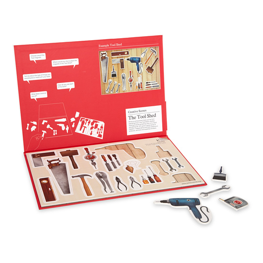 Creative Scenes Magnetic Activities - The Tool Shed
