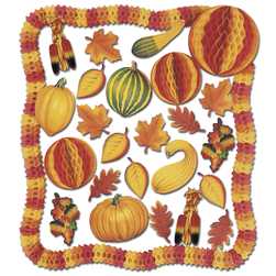 Decorating Kit - Fall - 28 Pieces