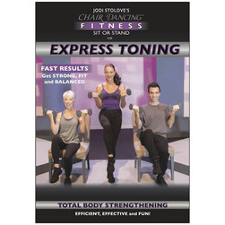 Jodi Stolove's -  Chair Dancing Fitness Express Toning*