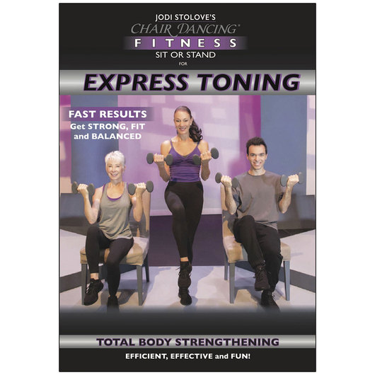 Jodi Stolove's - Chair Dancing® Fitness Express Toning*