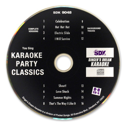 Singer's Dream Series Variety Karaoke CD+G Set - 2 CD+Gs