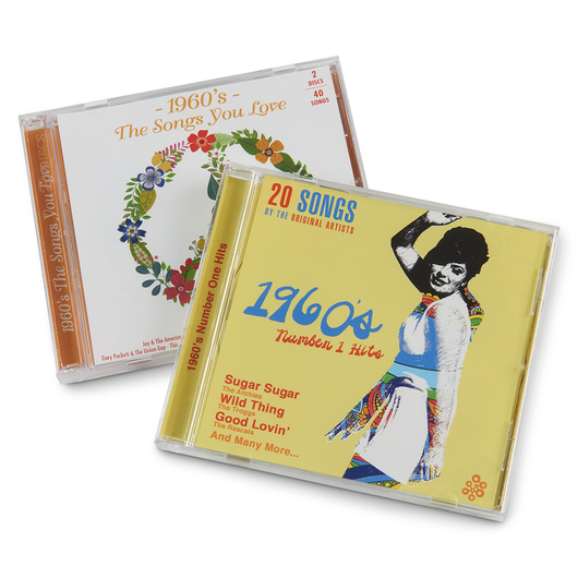 Hits of the '60s Set of 3 CDs