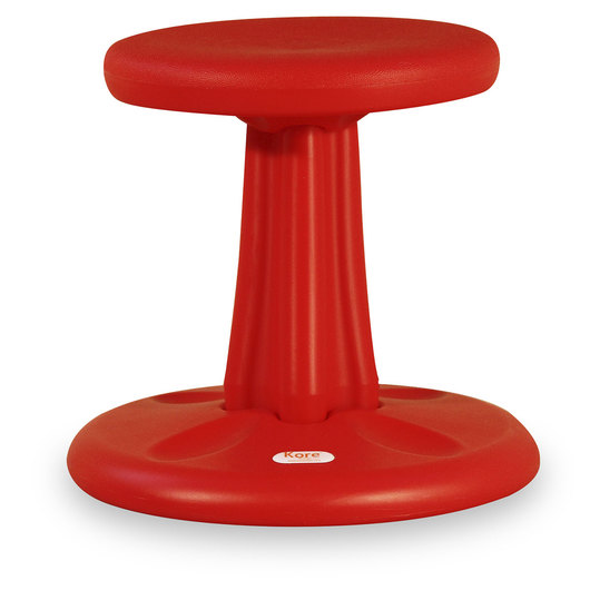 Kore™ Junior Wobble Chair - 16 in. H - Red