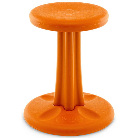 Kore™ Junior Wobble Chair - 16 in. H - Orange