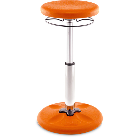 Kore™ Kids Adjustable Tall Wobble Chair 16-1/2 in. to 24 in. H - Orange