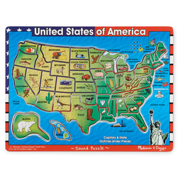 Braille Talking USA Jigsaw Puzzle