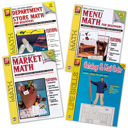 Life Skills Math Book Set