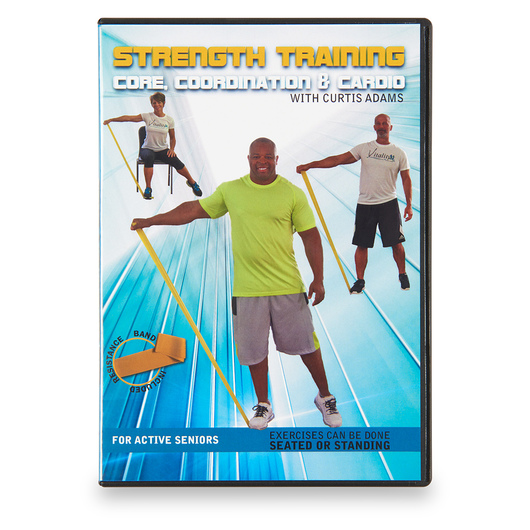 Curtis Adams Exercise DVD - Strength Training