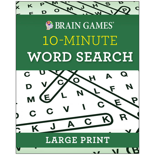 Brain Games® Large Print 10-Minute Word Search