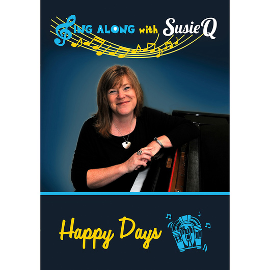 Sing Along with Susie Q DVD - Happy Days