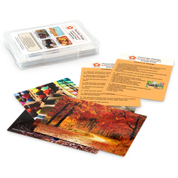 Favorite Things Seasons Reminiscence Photo and Activity Cards