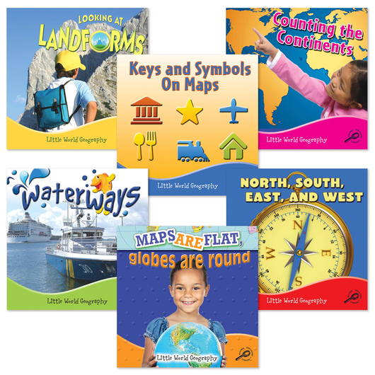 Little World Geography Book Set