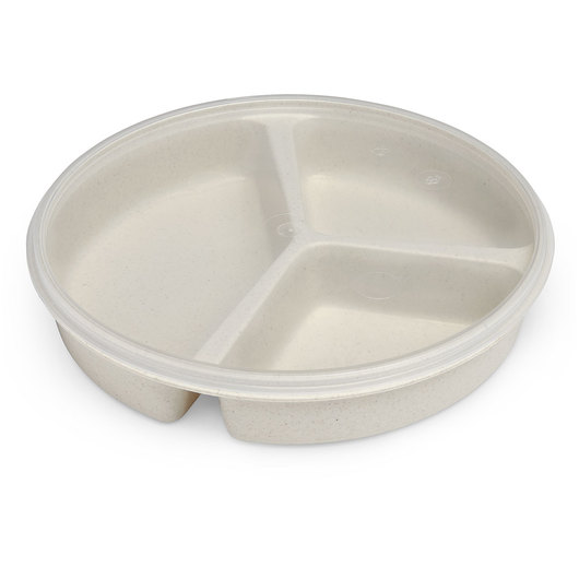 Partitioned Scoop Dish with Cover