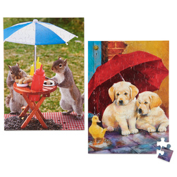 Springbok® Animal Puzzle Set