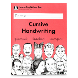 Handwriting Without Tears® - Cursive Handwriting Student Workbook