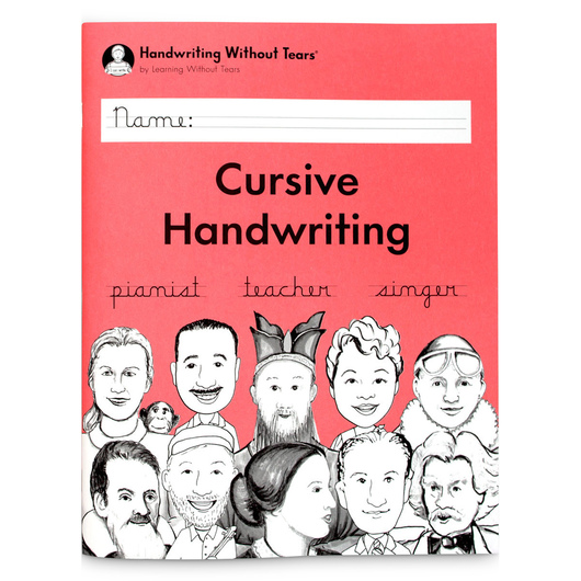 Handwriting Without Tears® - Cursive Handwriting Student Workbook, Grade 3
