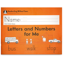 Handwriting Without Tears® - Letters and Numbers for Me Student Workbook