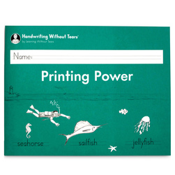 Handwriting Without Tears® - Printing Power Student Workbook