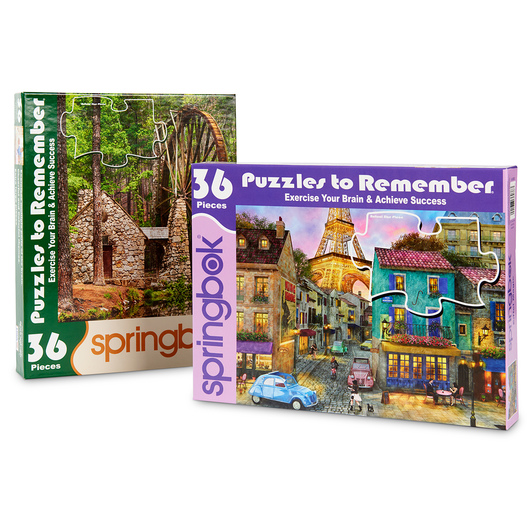 Puzzles to Remember Sightseeing Set - 36 Pieces - Set 2